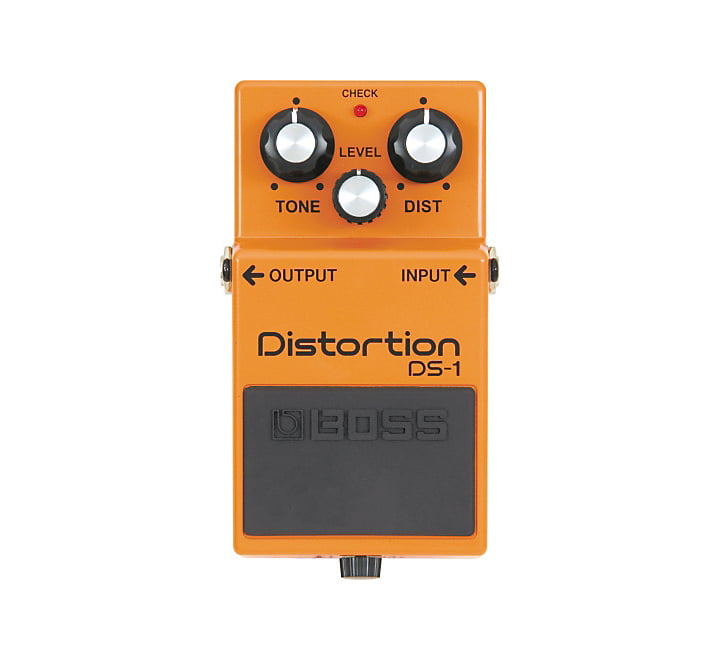 Boss DS1 Distortion FRONT