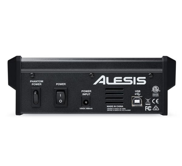 ALESIS MULTIMIX 4FX USB REAR