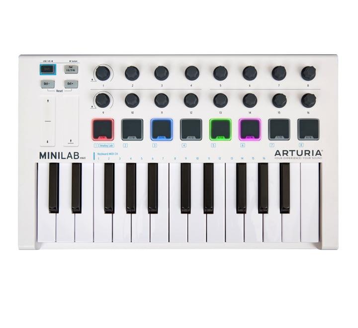 Arturia Minilab MK2 FRONT
