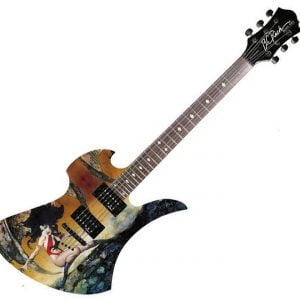 B.C. Rich Mockingbird Body Art Collection