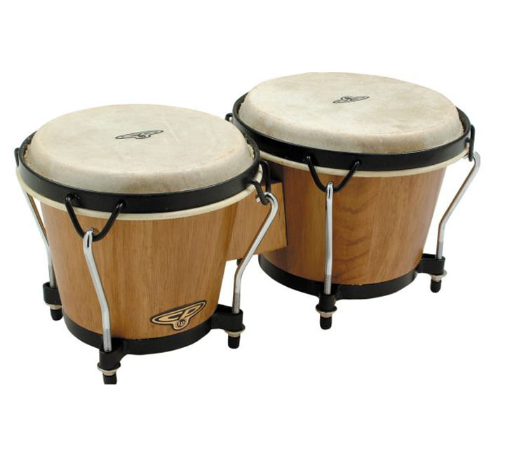 CLUB SALSA BONGOS NATURAL SATIN