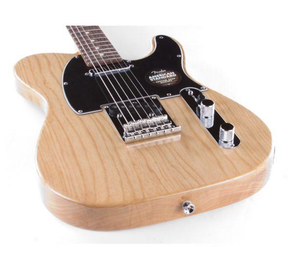 Fender American Standard Telecaster Natural BACK