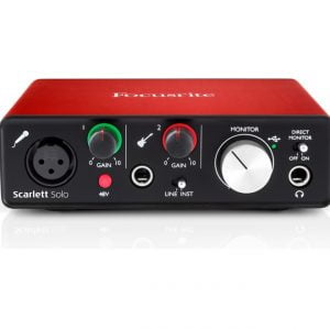 Focusrite Scarlett Solo Second Generation