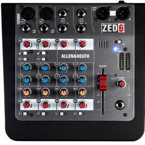 Allen & Heath ZED-6