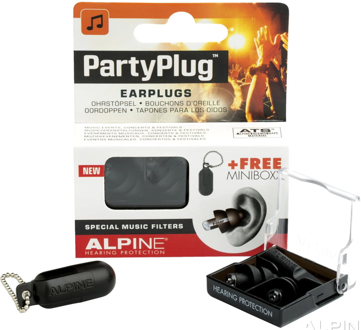 Alpine PARTYPLUG MKII BLACK EDITION