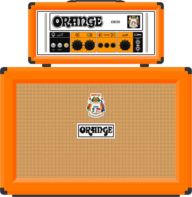 Orange Amp Slide