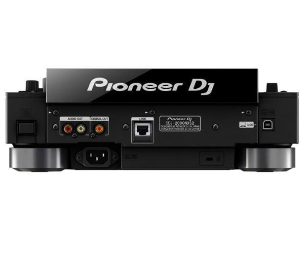 Pioneer CDJ 2000 Nexus 2 back