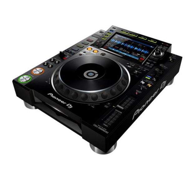Pioneer CDJ 2000 Nexus 2 side