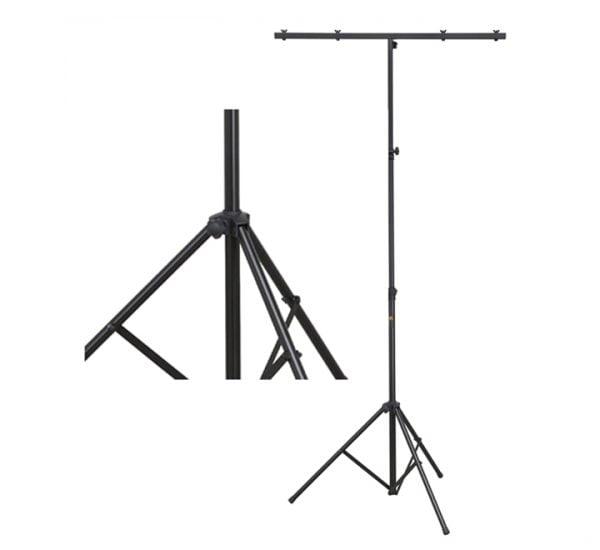 Soundsation LS-100 – Stand luci con T-Bar in Acciaio