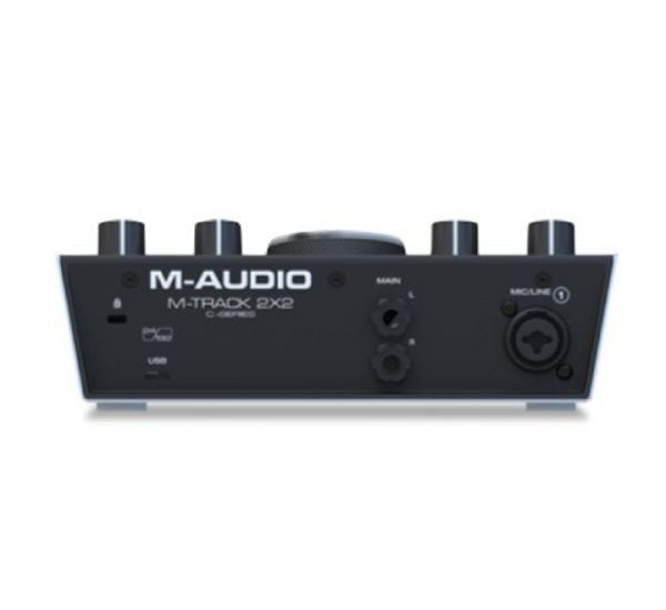 M-Audio M-Track 2×2 Back