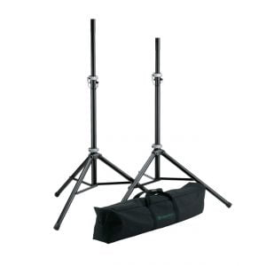 K&M 21459 Speaker Stand Package Side