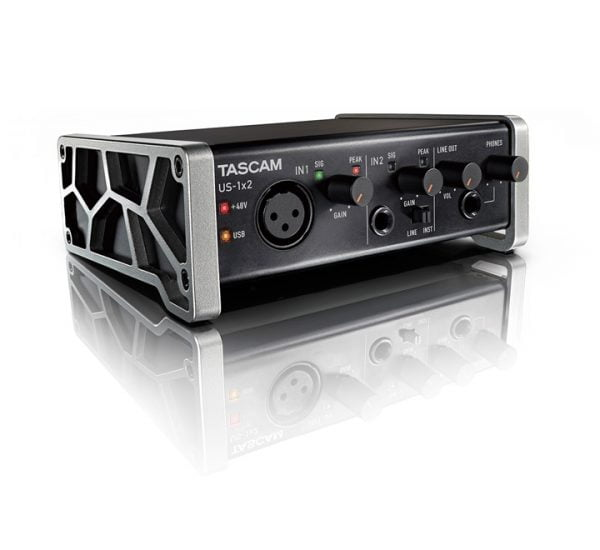Tascam US-1×2 Side