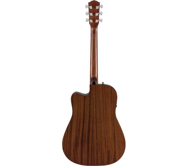 Fender CD-60SCE Natural Back