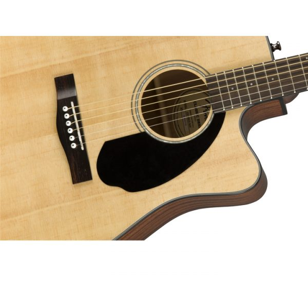 Fender CD-60SCE Natural Side
