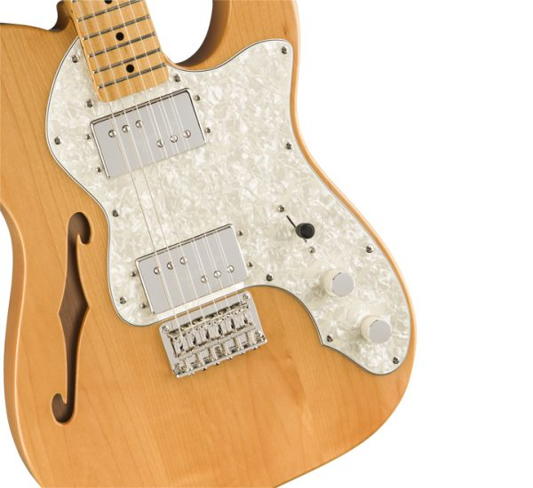 Fender Squier Classic Vibe '70s Telecaster Thinline MN NT Side