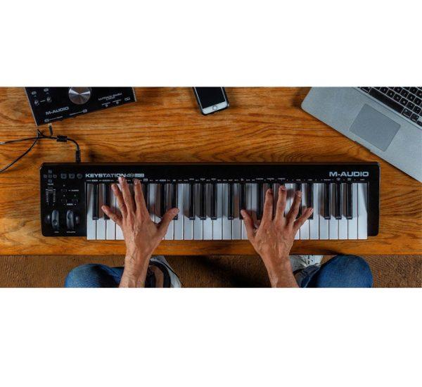 M-Audio Keystation 49 MK3 detail