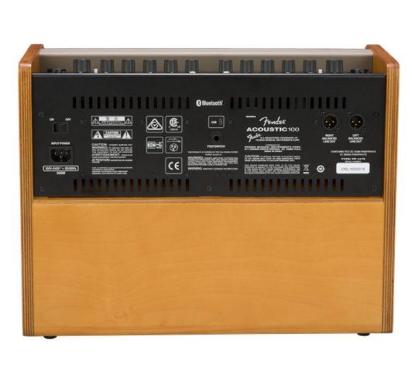 Fender Acoustic 100 Back