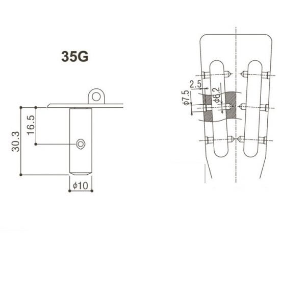GOTOH 35G420 SG Detail 2