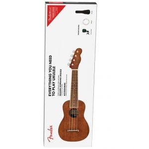 Fender Seaside Soprano Ukulele Pack Front