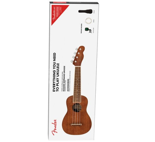 Fender Seaside Soprano Ukulele Pack Front