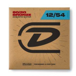 Dunlop DAB1254 Acoustic 80-20 Light