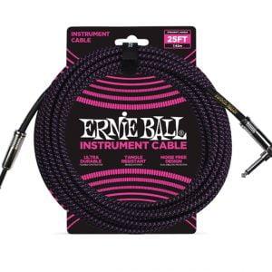 Ernie Ball 6068 Cavo Braided Black-Purple 7,62