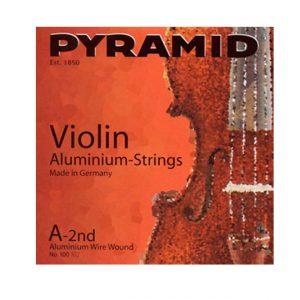 Pyramid 100100 Aluminium Violino 3-4