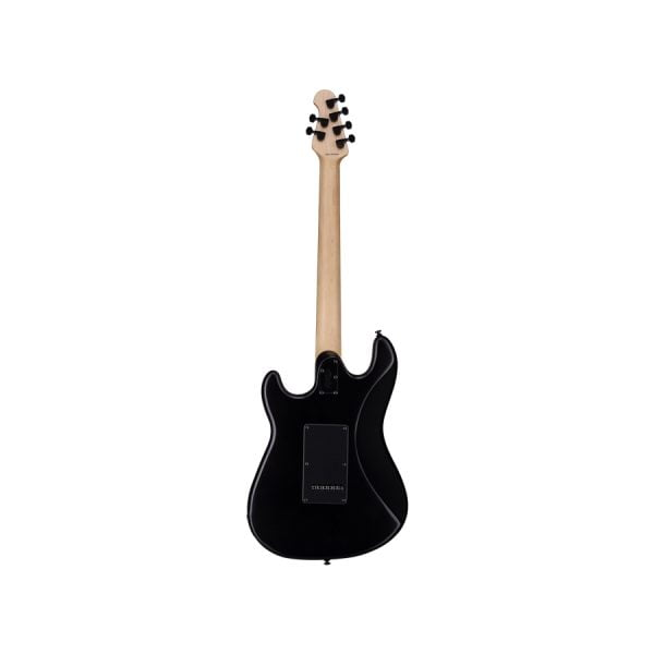 Sterling By Music Man Cutlass HSS Stealth Black Back 2