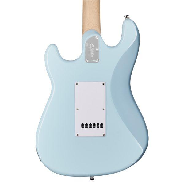 Sterling By Music ManCutlass SSS MN Daphne Blue Back