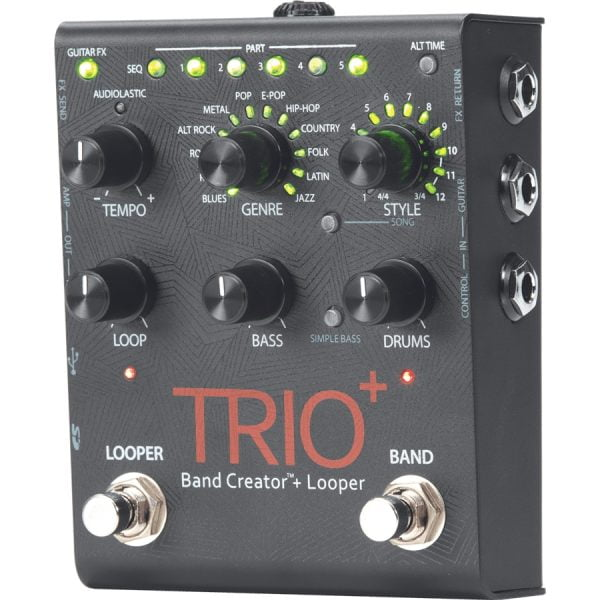 Digitech Trio+ Band Creator Side