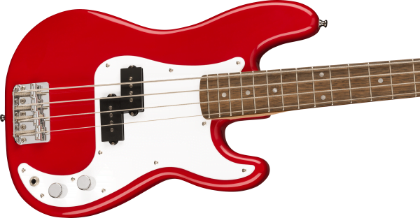 Fender Squier Mini Precision Bass LRL DKR Side