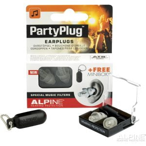 Alpine PartyPlug MKII Trasparent Edition