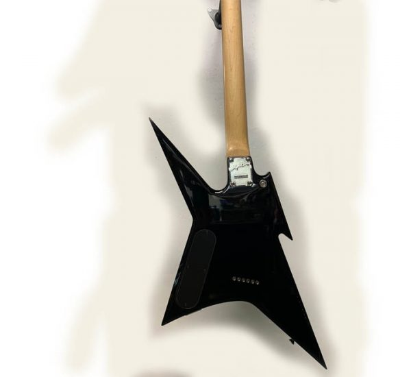 B.C Rich Ironbird Back Deta