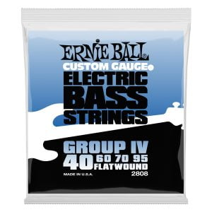 Ernie Ball 2808 Flatwound Group IV 40-95