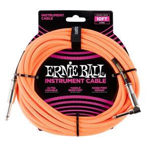 Ernie Ball 6079 Cavo Braided Neon Orange 3,05 MT