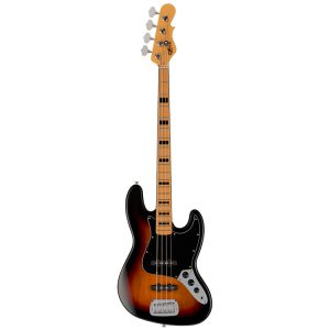 G&L Tribute JB Bass 3-Tone Sunburst