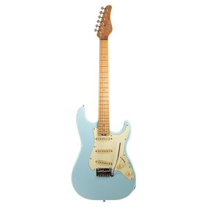 Schecter Traditional Route 66 Chicago SSS Sugar Paper Blue