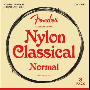 Fender 100 Nylon Tie End 3-Pack